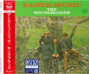 The Youngbloods -  Earth Music (1967) (Japan Remastered, 2014)