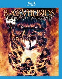 Black Veil Brides - Alive And Burning (2015) [Blu-ray]