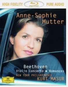 Anne-Sophie Mutter - Beethoven: Violin Concerto & Romances (2013) [Blu-Ray Audio]