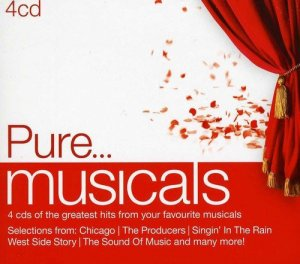 VA - Pure... Musicals [4CD Box Set] (2013)