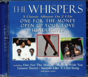 The Whispers - One For The Money (1976) / Open Up Your Love (1977) / Headlights (1978) [2CD] Remastered [WEB] (2018)