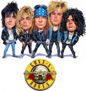 Guns N' Roses - Singles Collection (1987-2008) [10 CDS]