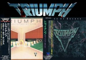 Triumph - The Sport Of Kings / Edge Of Excess (1986/1992) [Japan Reissue 1995/1993]