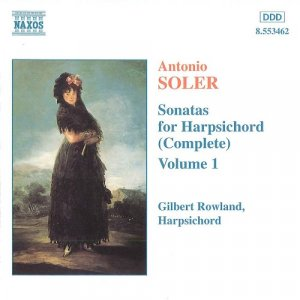 Gilbert Rowland - Soler: Complete Sonatas for Harpsichord, Vol.1-13 (13 CDs, 2007)