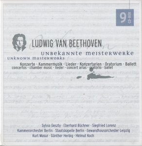VA - Ludwig van Beethoven: Unknown Masterworks (2003)