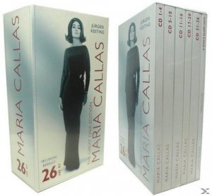 Maria Callas - The Great Diva Edition (27 CDs Box Set) (2011)