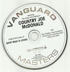Country Joe McDonald – Country Joe Welcomes You To Quiet Days In Clichy (OST) (1969) [2010]