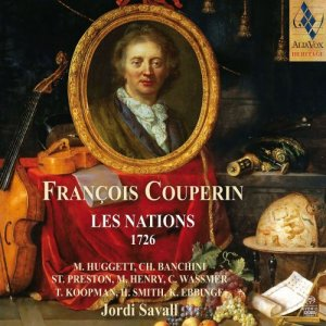 Jordi Savall & Hesperion XX - Couperin: Les Nations, 1726 (2018)