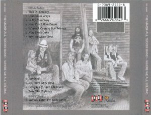 The Marshall Tucker Band - Where We All Belong (1974) [Remastered] (2004)
