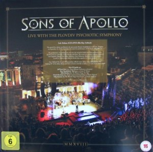 Sons Of Apollo - Live With The Plovdiv Psychotic Symphony (2019) [DVD9]