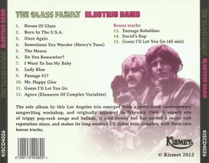 The Glass Family - Electric Band (1969) (Reissue, 2012)