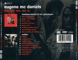 Eugene Mc Daniels - Headless Heroes Of The Apocalypse / Outlaw (1970/71) (2002)