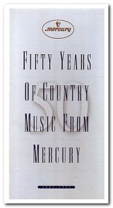 VA - Fifty Years of Country Music from Mercury [3CD Box Set] (1995)