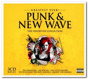 VA - Greatest Ever! Punk & New Wave: The Definitive Collection [3CD Box Set] (2013)