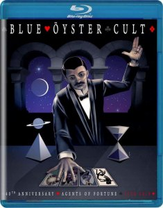 Blue Oyster Cult - 40th Anniversary - Agents Of Fortune: Live 2016 (2020) [Blu-ray]