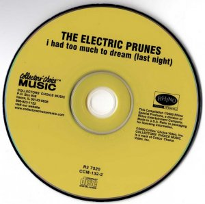 The Electric Prunes - I Had Too Much To Dream (Last Night) (1967)  [Reissue, Extended, 2000]