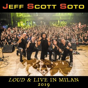 Jeff Scott Soto - Loud & Live in Milan 2019 [HD Tracks] (2020)