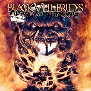 Black Veil Brides - Alive And Burning [HD Tracks] (2015)