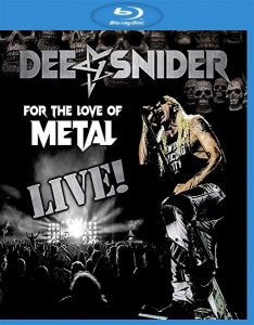 Dee Snider - For The Love Of Metal Live (2020) [Blu-ray]