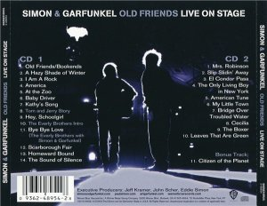 Simon & Garfunkel - Old Friends: Live On Stage (2CD 2004)