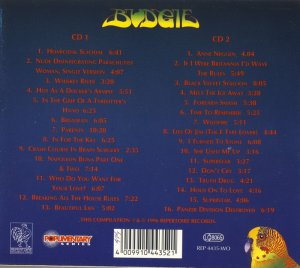 Budgie - The Definitive Anthology: An Ecstasy Of Fumbling (1971-1988) [Compilation, 1996] 2CD