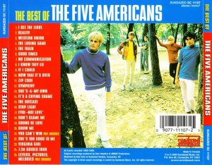 The Five Americans - The Best Of (1965-69) [WEB] (Compilation, 2003)