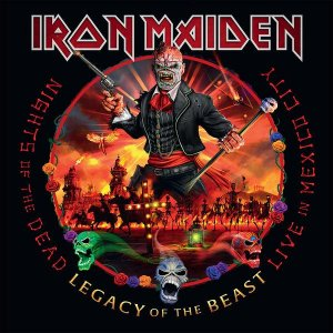 Iron Maiden - Nights Of The Dead, Legacy Of The Beast: Live In Mexico City [HD Tracks] (2020)