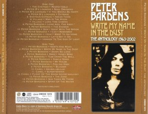 Peter Bardens - Write My Name In The Dust : The Anthology 1963-2002 (2005) 2CD