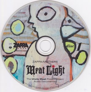 Zappa / Mothers - Meat Light (The Uncle Meat Project / Object Audio Documentary) (1968-69) (2016) 3CD