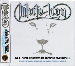 White Lion - All You Need Is Rock 'n' Roll [5CD] (2020)
