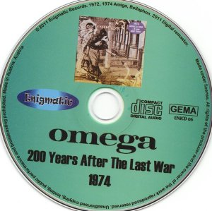 Omega - 200 Years After the Last War (1974) (Remastered, Expanded, 2011)