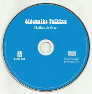 Hollins And Starr - Sidewalks Talking (1970) (Limited Edition, 2011)