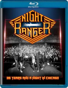 Night Ranger - 35 Years and a Night in Chicago (2016) [Blu-ray]
